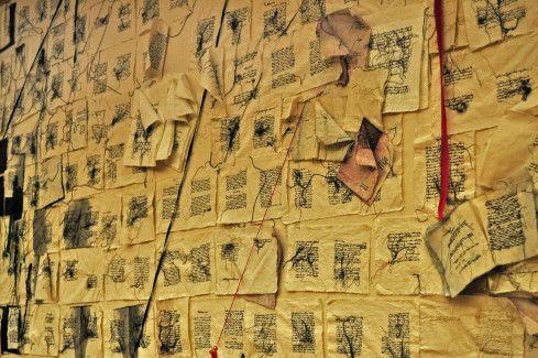 L'opera di Maria Lai alla Camera dei Deputati, Ulassai, Sardegna, Sardinia, arte, art.