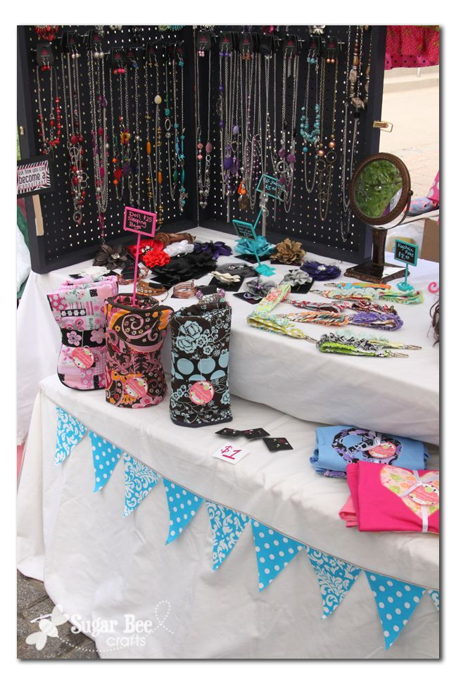 31 best images about craft fair display on pinterest for Craft show jewelry display