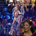 Robin Thicke's Wife Paula Patton Confused By Twerk Uproar; Asks, 'Did They Think Miley Was Gonna Sit Down And Play Piano?' - http://celeboftea.com/robin-thickes-wife-paula-patton-confused-by-twerk-uproar-asks-did-they-think-miley-was-gonna-sit-down-and-play-piano/