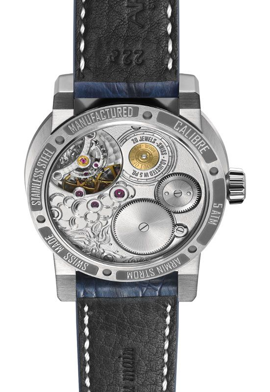Wealth Solutions - Serwis informacyjny - Komunikaty - A Spirited Design: Armin Strom's Cognac Watch Contains drop of the WORLD'S OLDEST Cognac