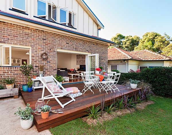 Give your home the feeling of space with this great deck idea!