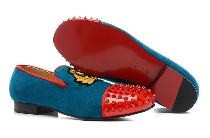 replica red bottom shoes for men