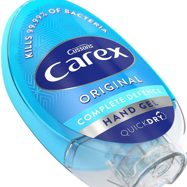 Carex Relaunches Its Antibacterial Hand Gel Range With Iconic