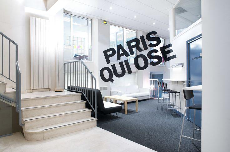 Local de campagne - Premices and co. Conception Du local et de l'identité de campagne en collaboration avec H5 pour l'équipe d'Anne Hidalgo pour les élections municipales parisiennes 2014. #paris #project #design #spacedesign #furniture #architecture