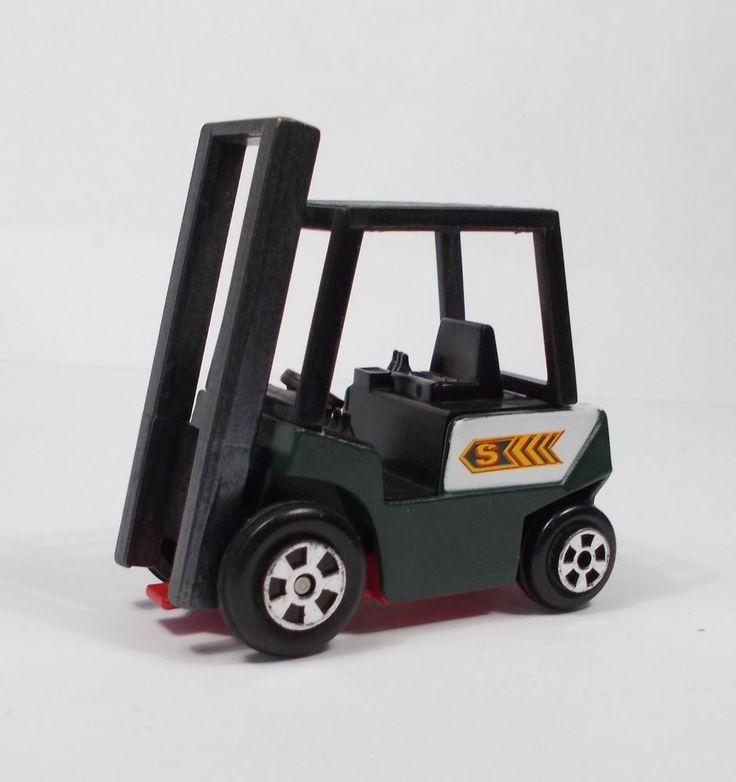 Corgi - Eddie Stobart Forklift Truck  - Die-cast Toy Model - Incomplete Model