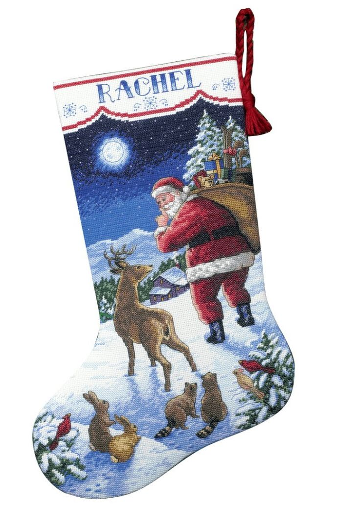 84 besten Cross Stitch - Stockings Bilder auf Pinterest | Kreuzstich ...