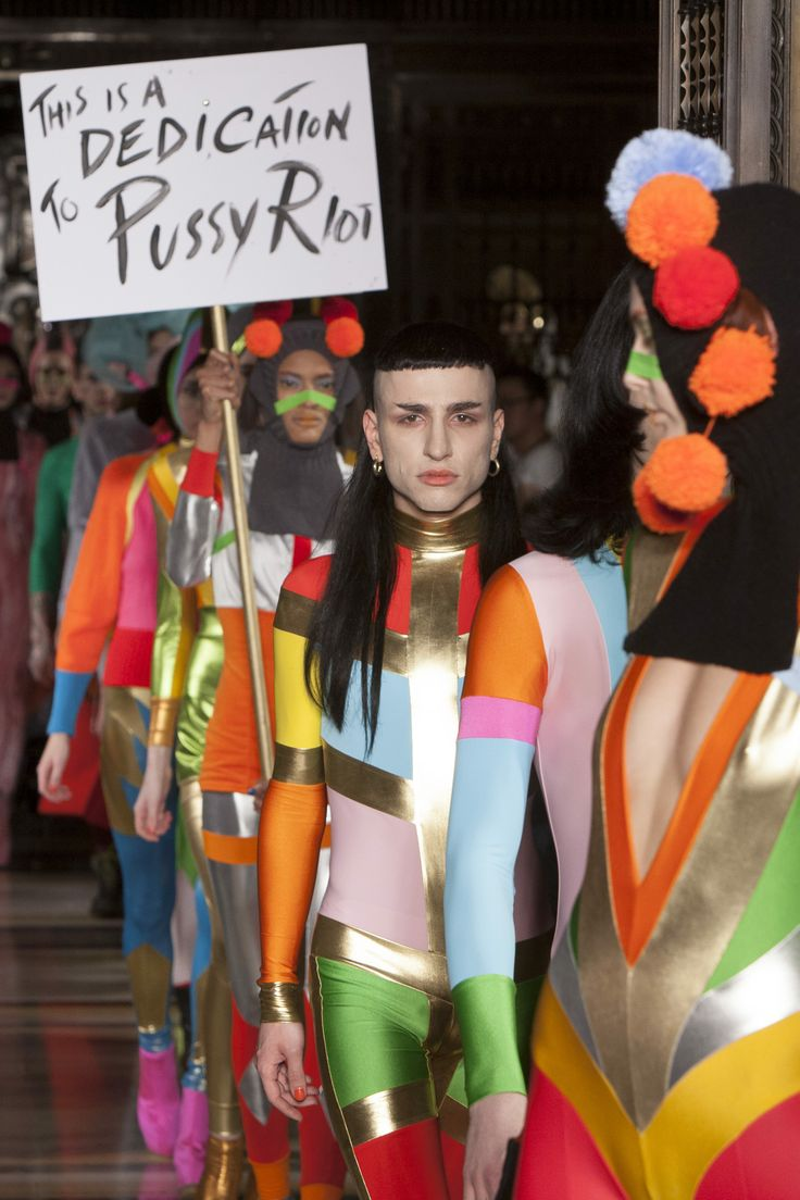 Fashion with meaning at Pam Hogg #LFW