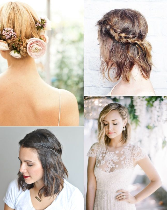 1000+ ideas about Bride Short Hair on Pinterest | Bride ...