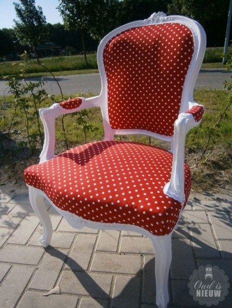 Oude stoelen opknappen en stofferen, uw stoelen op maat - Oud is Nieuw