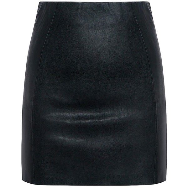 Mcq Alexander Mcqueen - Mini Contour Skirt ($340) ❤ liked on Polyvore featuring skirts, mini skirts, sexy short mini skirts, mini skirt, sexy short skirts, sexy mini skirts and short skirts