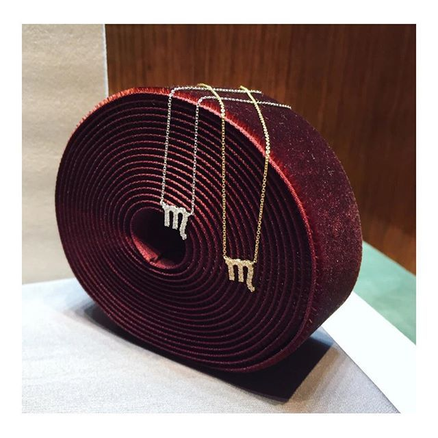 Loyal, passionate & dynamic! The Petit Sign of the month is Scorpio 🦂💫 #engelbertstockholm#finejewelry#jewelryoftheday#jewelrygram#zodiac#starsign#jewelrylover#gold#diamonds#jotd#ootd#jewelrydesign