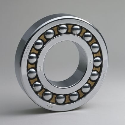 Self-Aligning Ball Bearing 1907 Sven Wingquist Chrome-plated