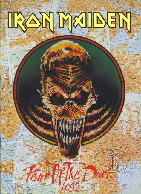 Iron Maiden Tour Program https://www.facebook.com/FromTheWaybackMachine
