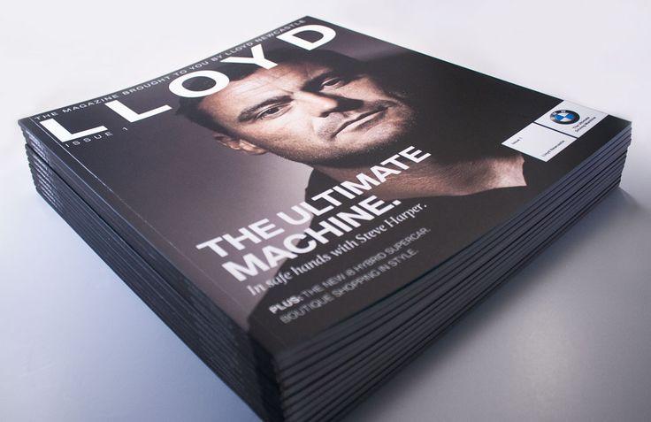 Lloyd BMW Newcastle Magazine - Cover