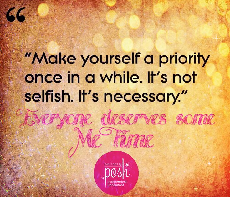 Perfectly Posh...because everyone deserves some me time :)