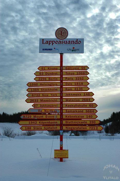 Lappeasuando, Kiruna.