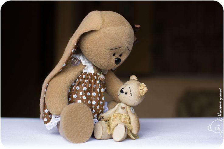 Зайка Зоя и мишка Маня / Zoe the Bunny and Manya the Teddy Bear