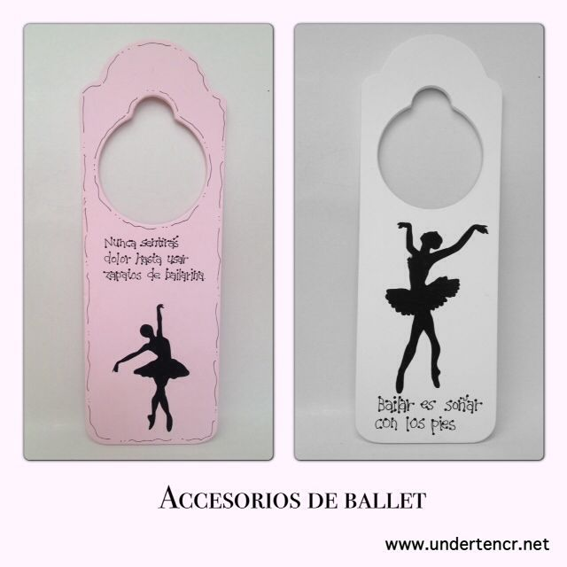 Ballet and jazz decor