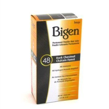 Bigen Powder Hair Color -48 Dark Chestnut 0.21oz (3 Pack) *** You can get additional details at the image link.