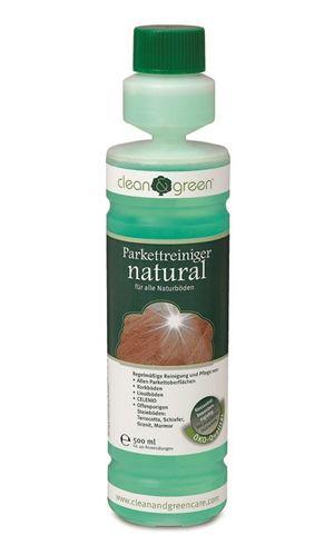 clean & green Parkettreiniger natural 500 ml