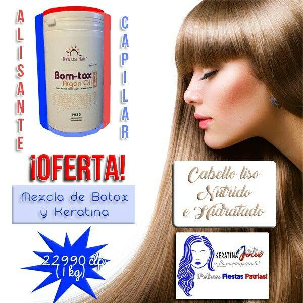 ¡Cabello liso, hidratado y radiante! Solo tienes que usar BOM-TOX.  Adquierelo en nuestro Instagram, clicleando esta foto. Sólo válido para Chile.  #Cabello #Liso #Largo #Corto #Oferta #Productos #Cabello #Chile #Botox #Keratina #Alisado #Hidratado #Hidratacion  #Nutrido #Capilar #Moda #Belleza #Compras #Marketing #Diseño