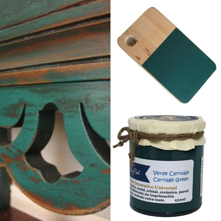 Colores Mary Paint - MaryPaint - Carriage green
