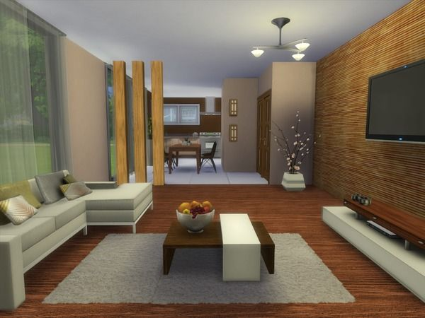 The Sims Resource Luke livingroom by spacesim u2022 Sims 4 Downloads - sims 3 wohnzimmer modern