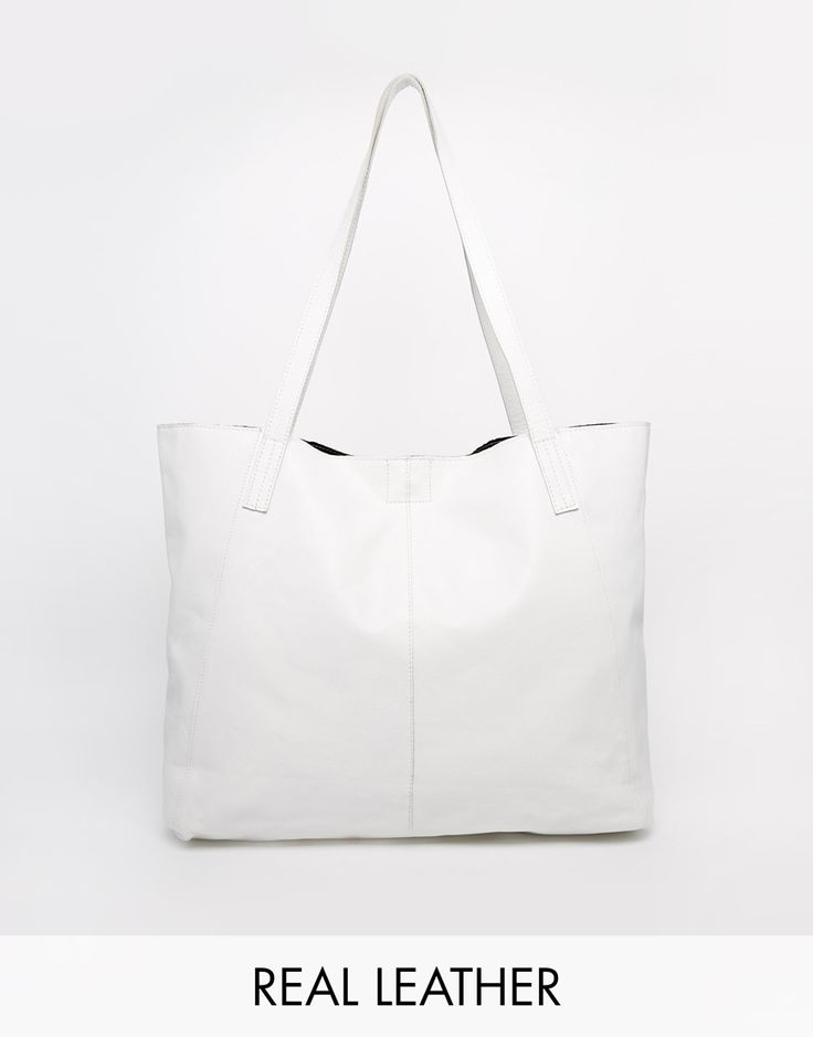ASOS Leather Shopper Bag