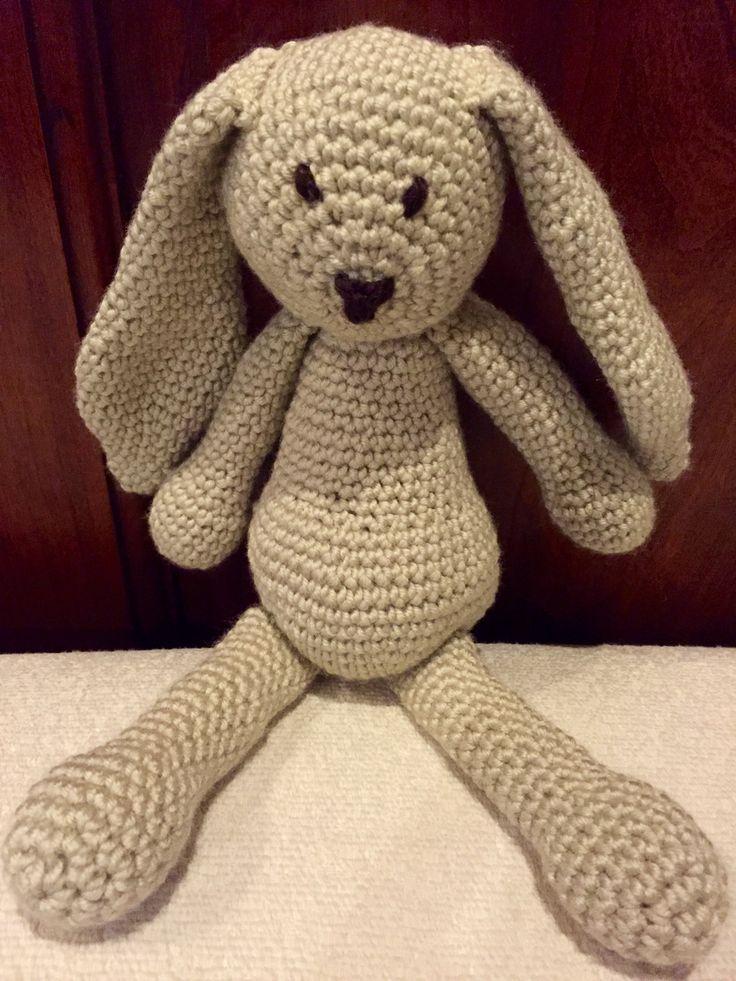 """Edward's menagerie """"Emma """" Tejido con acrílico Fidelio de LHO Color 9001 partida 3266 Crochet n#3.5"""