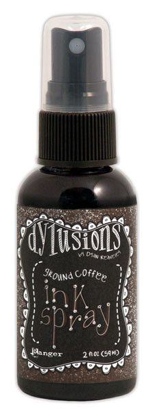 Dyan Reaveley Dylusions Ink Spray - Ground Coffee