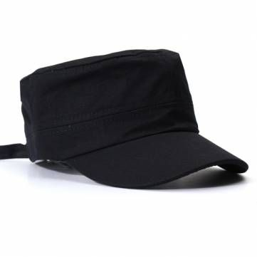 Korean Fashion Flat Cap For Men & Women Outdoor Army Hat Baseball Cap