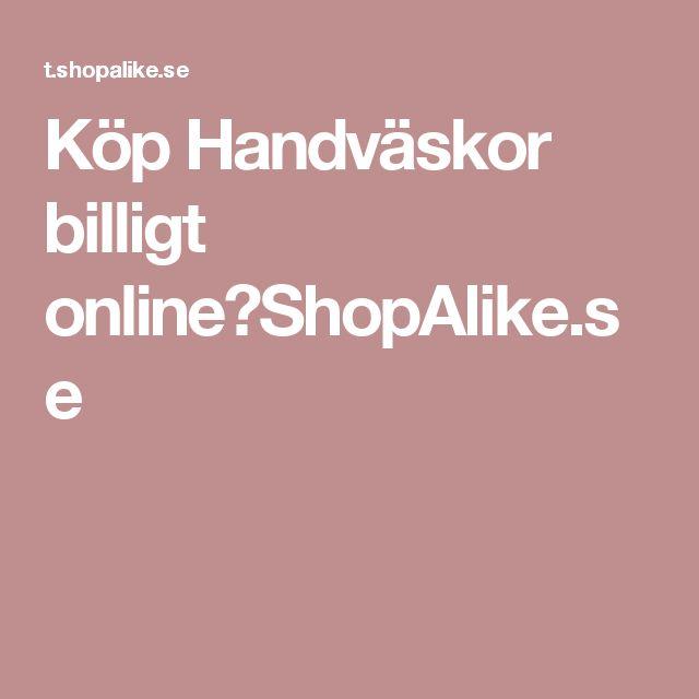 Köp Handväskor billigt online|ShopAlike.se