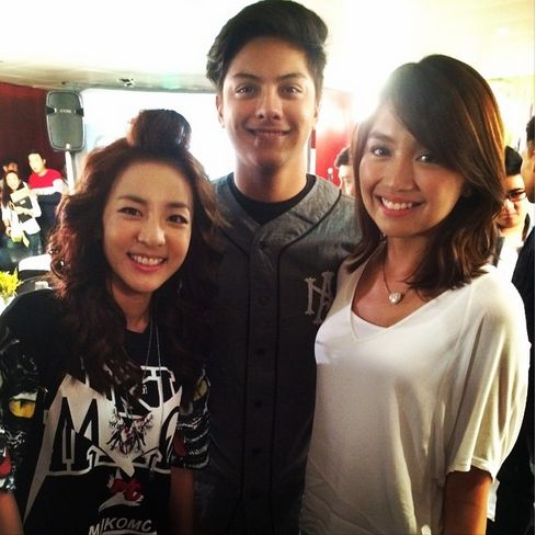 kathniel victory party shes dating the gangster book