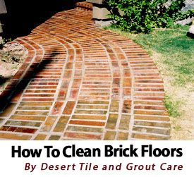 how to clean bricks with vinegar