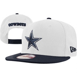 Dallas Cowboys White/Navy New Era 9FIFTY White Top Snapback Hat  $20.99 http://www.fansedge.com/Dallas-Cowboys-WhiteNavy-New-Era-9FIFTY-White-Top-Snapback-Hat-_805564105_PD.html?social=pinterest_pfid22-21234