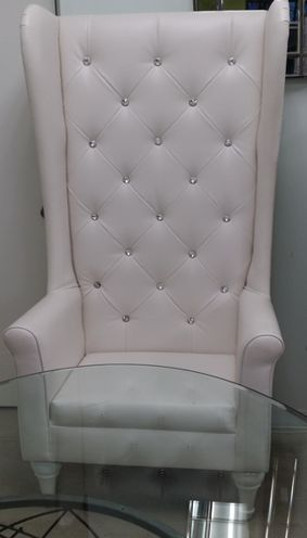 We are excited about this one! The New Bride and Groom Chair!