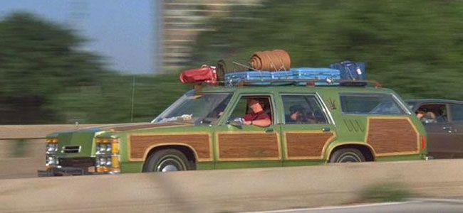 The station wagon from National Lampoon's Vacation (1983 ...
