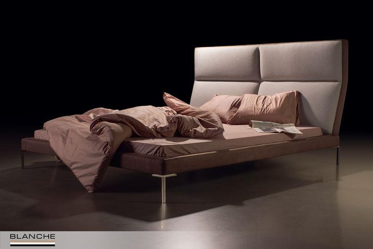 Кровать LAVAL – образец стиля и элегантности. Высокие ножки из металла подчеркивают утонченные формы кровати, а изголовье оригинальной формы, имеющее удобный угол наклона, позволяет с комфортом проводить в постели часы досуга.