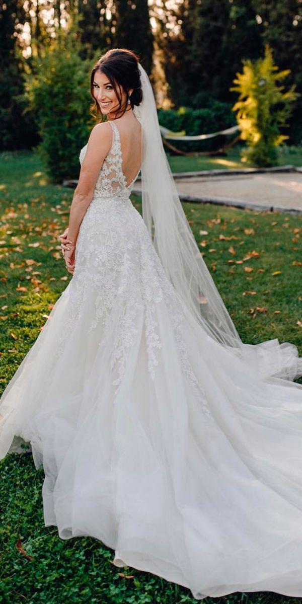 30 Beautiful Wedding Dresses By Top Usa Designers Wedding