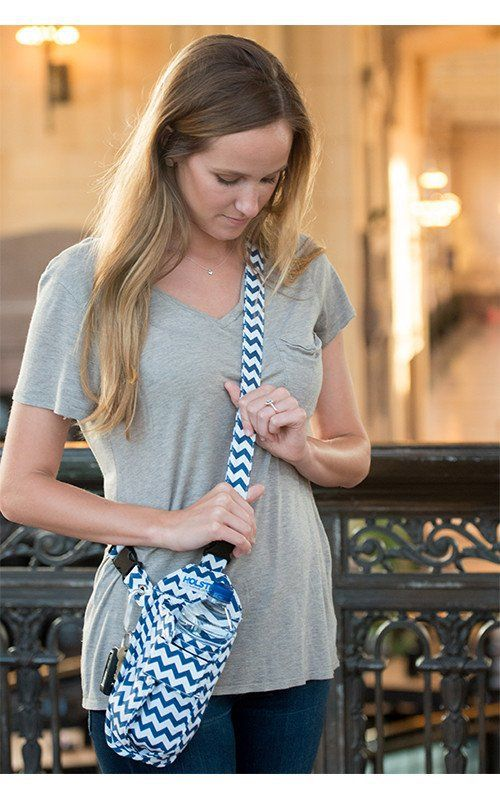 Carry your water bottle and still be hands free AND still be fashionable with HOLSTRit. Each purchase there's a donation to the National Kidney Foundation.