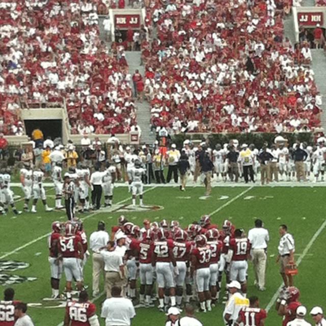 This is Alabama football.
