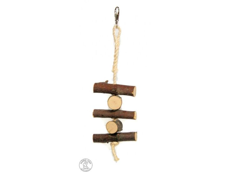 Carly's Clothesline Apple Log Hanger