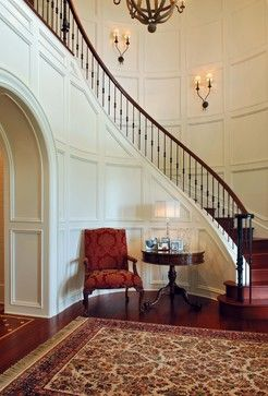 Stairway & Foyer - traditional - staircase - charleston - Phillip W Smith General Contractor, Inc.
