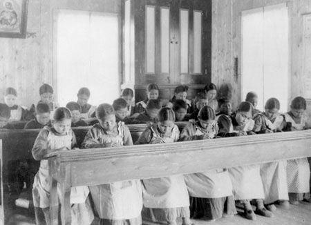 Residential schools to this day are one of North America's frown upon moments. The actions and measures taken were and are very inappropriate.   This helps us in the future just like the case of women, that they are actually people. Discrimination and racism are not tolerated among us Canadians, Americans, and anywhere socially. This also could have helped by maybe introducing a child abuse law.
