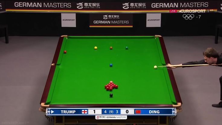 10 greatest snooker shots from German Masters 2018 tournament  Outro Music: Back In The Days by Andreas Jamsheree  Shaun Murphy Judd Trump Mark Williams Mark Selby Graeme Dott Ronnie O'Sullivan (commentator) Joe Perry