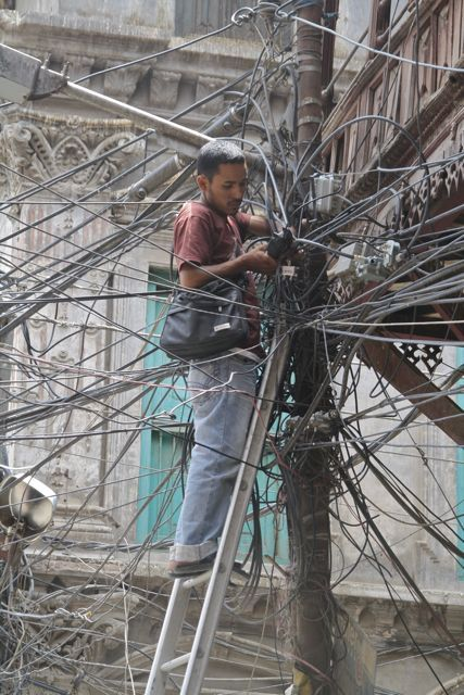Struggling with Kathmandu's chaotic electricity network