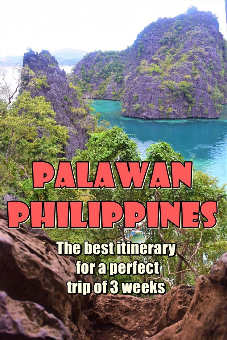 The best itinerary for a perfect trip of 3 weeks in Palawan, Philippines