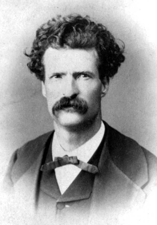 Mark Twain in an 1867 photograph taken by Abdullah Freres. Born Samuel Clemens in 1835, Mark Twain was a famous American writer and public speake