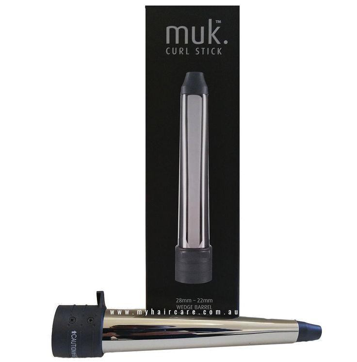 Muk Curl Stick 28-22mm Wedge Barrel Attachment