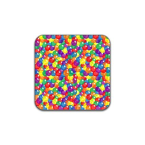 Fizzy Rainbow Coaster by fizzyrainbow at zippi.co.uk